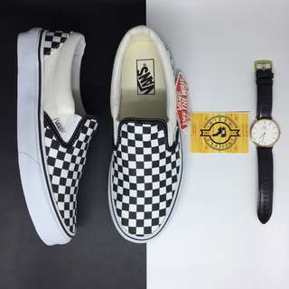 Sepatu Vans Slip-On Classic Checkerboard BNIB ORIGINAL c8db2900b3