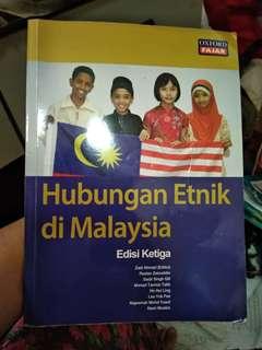 BUKU HUBUNGAN ETNIK DI MALAYSIA