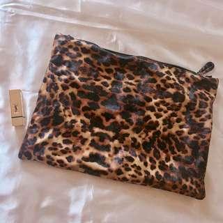 豹紋仿皮catch bag 💼