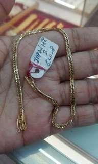 Japan Gold Bracelet size 8