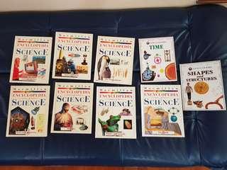 Science books