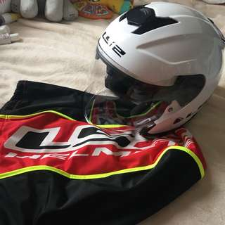 Original LS2 Casco Helmet