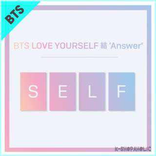 BTS - 3rd Repackage Album ' LOVE YOURSELF: ANSWER '
