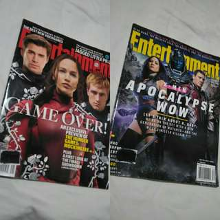 Entertainment Weekly - The Hunger Games: Mockingjay Pt 2, X-Men: Apocalypse