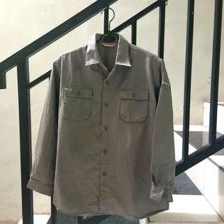 #maudecay grey paracute airism blouse