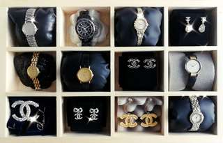 Authentic Chanel, Dior, Rado, Longines