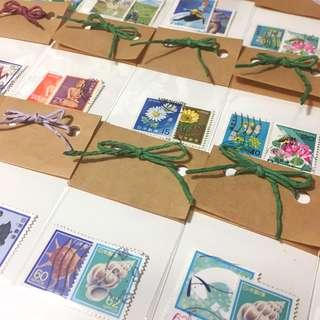 🚚 [i.l_store]日本消戳郵票 浮世繪 生肖賀年 Nippon 古董 郵票蒐藏