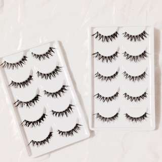 BN SOFT NATURAL CROSS LASHES