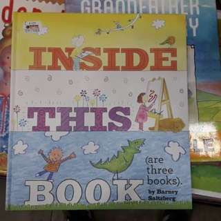 Inside this books there are 3 books BBW JKT 2018 Buku impor anak children books