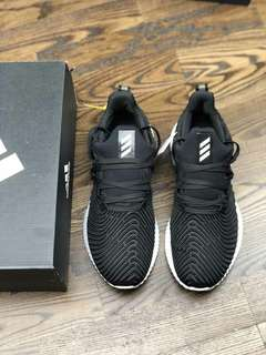 Adidas AlphaBounce HPC AMS3M反光 阿爾法二代 黑白配色