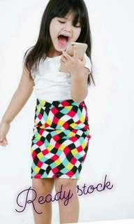 Baby girl pencil skirt