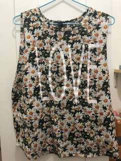 Forever 21 花花背心