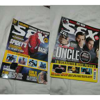 SFX Magazine - Spider-Man, The Man From UNCLE