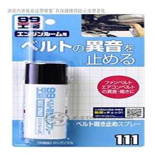 SOFT 99 皮帶油 Belt oil