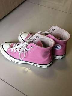 Converse1970 粉紅高筒鞋