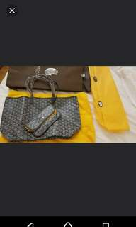 Goyard Saint Louis Tote Bag