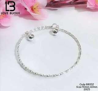 S925 Silver Bracelet fo babies year 0-6