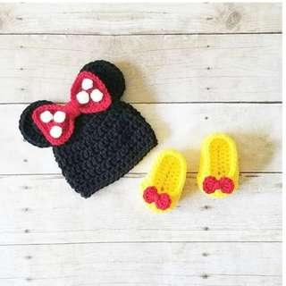 Crochet Minnie Set