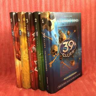 11 The 39 Clues books 1 to 11 plus The Black Book of Buried Secrets (Hardbound)