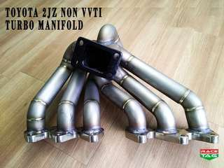 TOYOTA 2JZ NON VVTI TURBO UP TURBO MANIFOLD