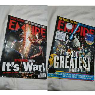 EMPIRE Magazine - Captain America: Civil War, The 301 Greatest Movies of All Time