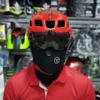 GrabMee Aero Red Road Bike Helmet
