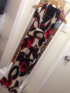 Jones New Toek printed midi  dress