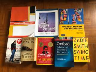 Financial and other books
