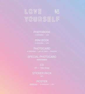 [NON-PROFIT Group Order | Preorder] BTS LOVE YOURSELF: ANSWER