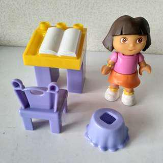 Mega Block Dora 積木玩具