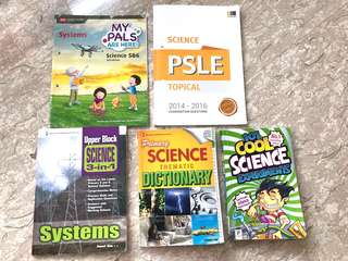 Primary 5 / 6 Science Textbook / PSLE Assessment guide (2018)