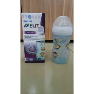 Avent natural blue monkey special edition 9oz