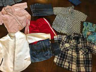 Assortment of quality boys clothes