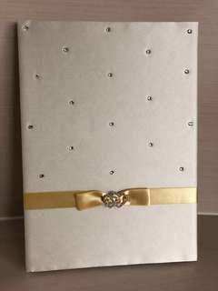Wedding Guest Signing Book