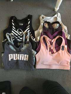 10 Pack Sports Bra Bundle - FREE POSTAGE