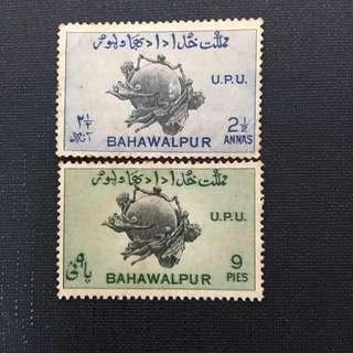 BAHAWALPUR OLD STAMPS