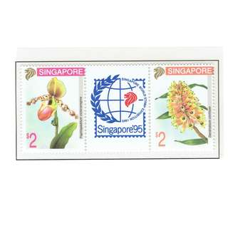 1994 01 Mint Stamps  Singapore 95 Orchid Series (th Series)