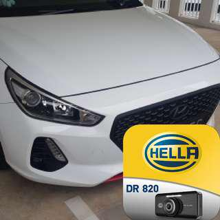 New Improved Iroad v9 by Hella 2 Channel Full HD Camera Installed into a Brand New Hundai i30