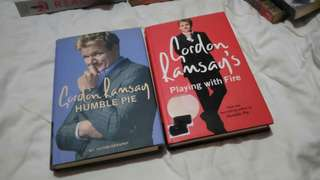 Humble Pie and Playing with Fire by Gordon Ramsay (Hardbound)