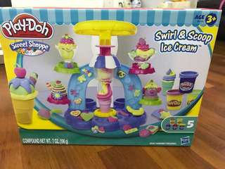 Play Doh Sweet Shoppe Swirl & Scoop Ice Cream