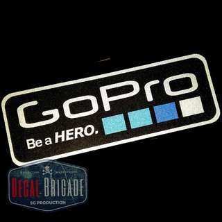 Gopro reflective waterproof sticker