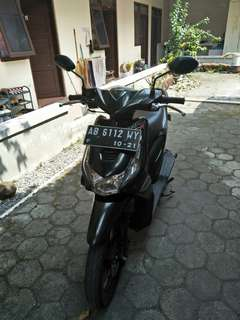 Honda Beat hitam 2011