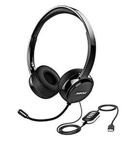 503•Mpow wired USB Headset