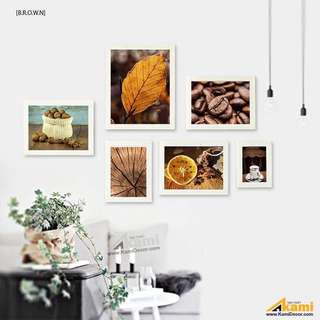 Set of 6pcs home art print