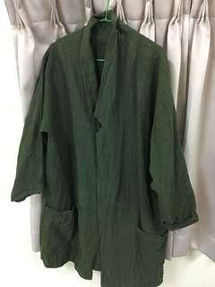 🚚 古著外套綠色