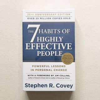 The 7 Habits of Highly Effect People by Stephen R. covey