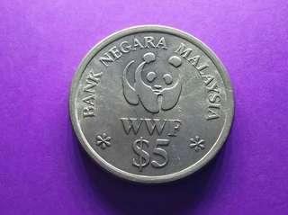 Syiling Peringatan Malaysia $5