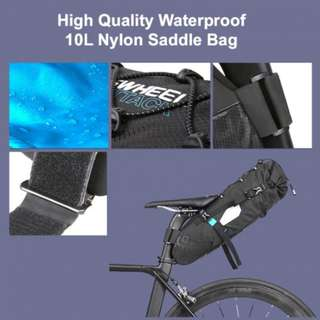 ROSWHEEL WATERPROOF TRAVEL SADDLE BAG (10L)
