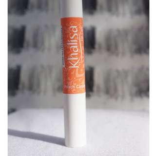 Khalisa Lip Balm Peach Caramel