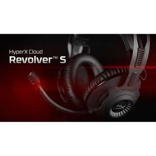 [SOLD OUT] Kingston HyperX Cloud Revolver S Gaming Headset with Dolby 7.1 Surround Sound (Black)